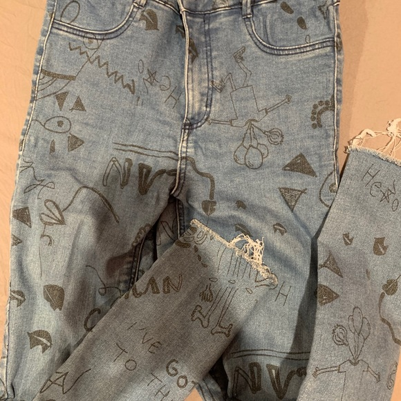 Cool stretchy Zara jeans